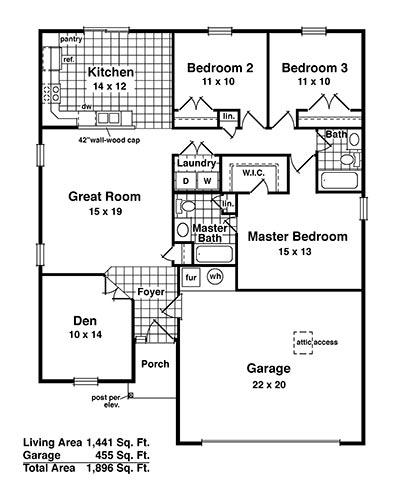 Jackson III - Floor 1