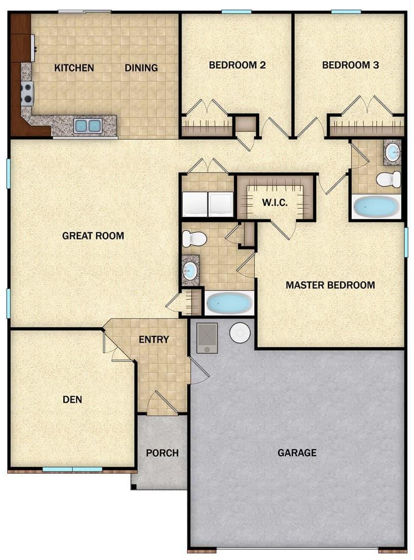 Jackson II - Floor 1