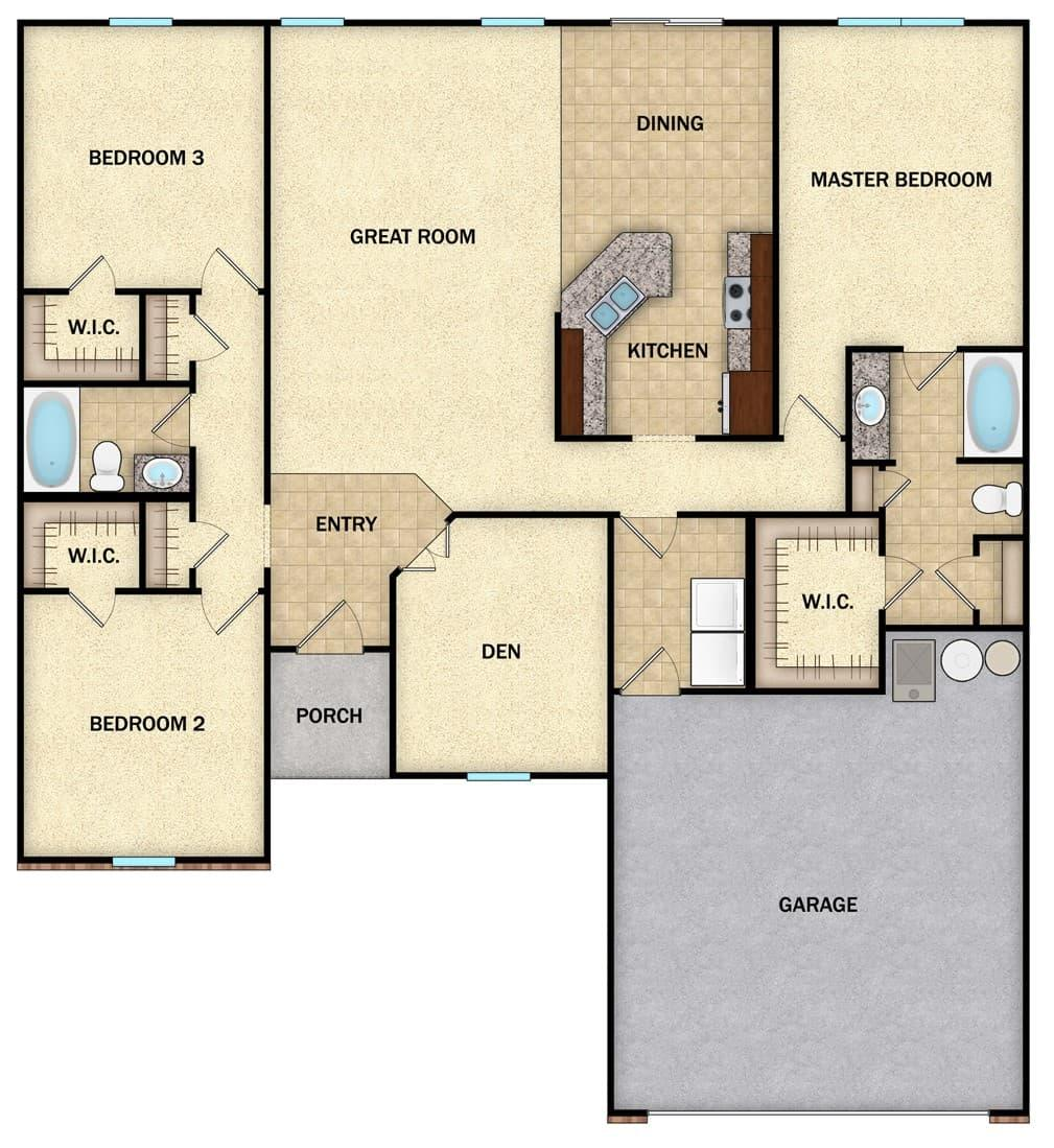 Albany II - Floor 1