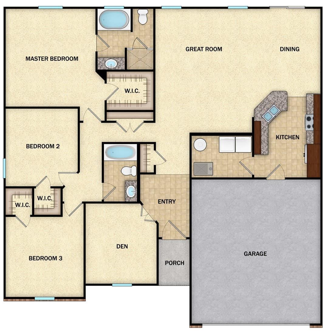 Harrisburg - Floor 1