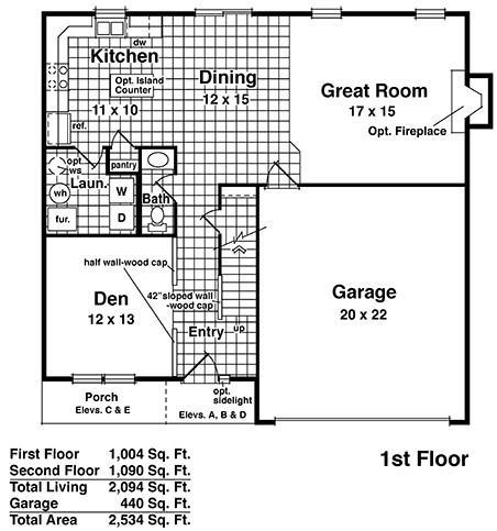 Sacramento - Floor 1