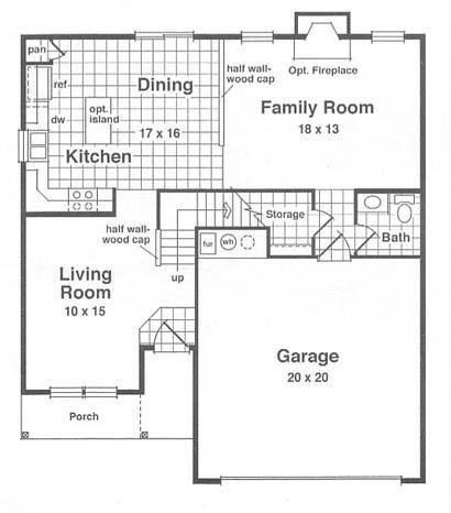 Columbia - Floor 1
