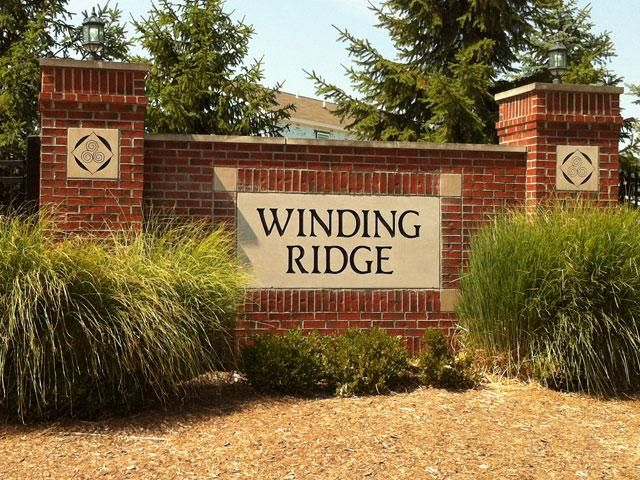 Winding Ridge - Convenient to I-65, city utilities, large home sites, pond view available.