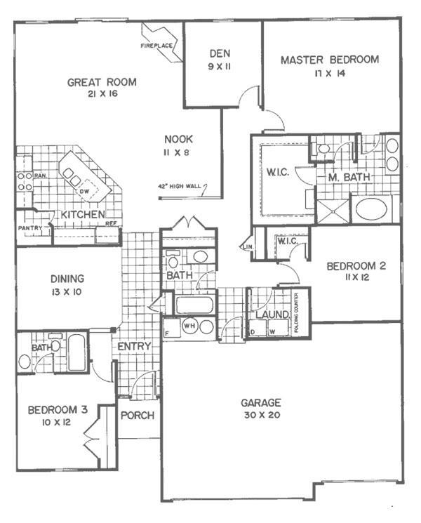 Lancaster - Floor 1